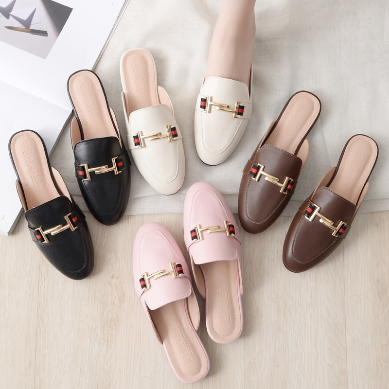 Zapatos de Fiesta al aire libre de diseñador para mujer, zapatillas de...