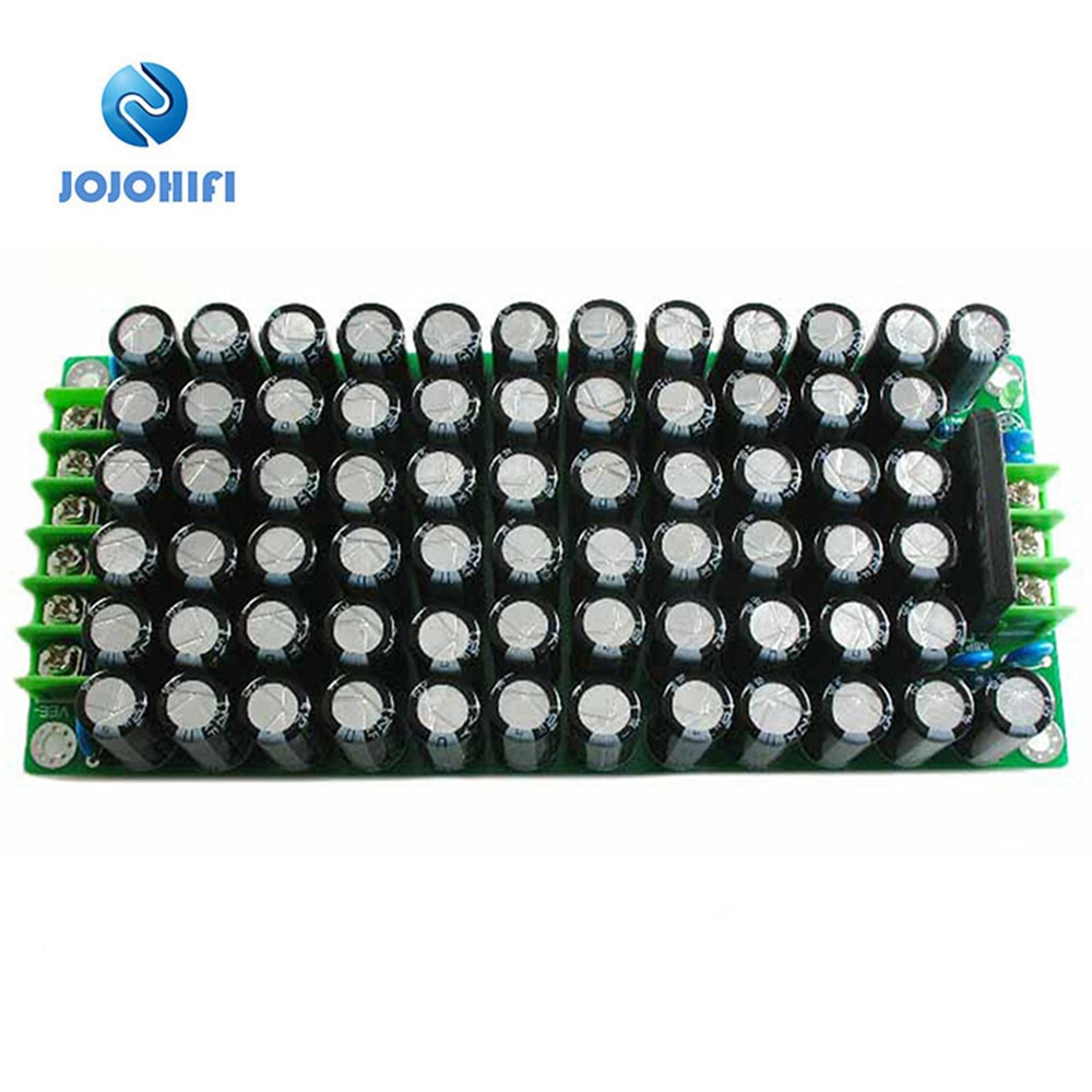 68 pces 220uf/75v capacitor kits diy/terminado amplificador de áudio placa de alimentação para l20d amp amplificador placa