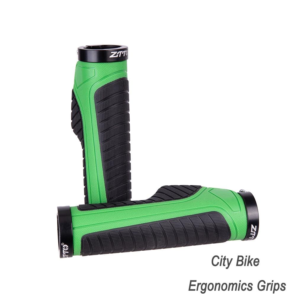 ZTTO Urban Bicycle ergonómico Grip, manija Bloqueable, manillar de bicicleta plegable antideslizante piezas de bicicleta 22,2mm AG42 1 par