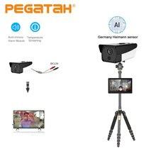 HD Thermal camera Digital Thermal Image IP Camera ir Human Body Temperature thermal imager Camera for Fever Detection with Alarm