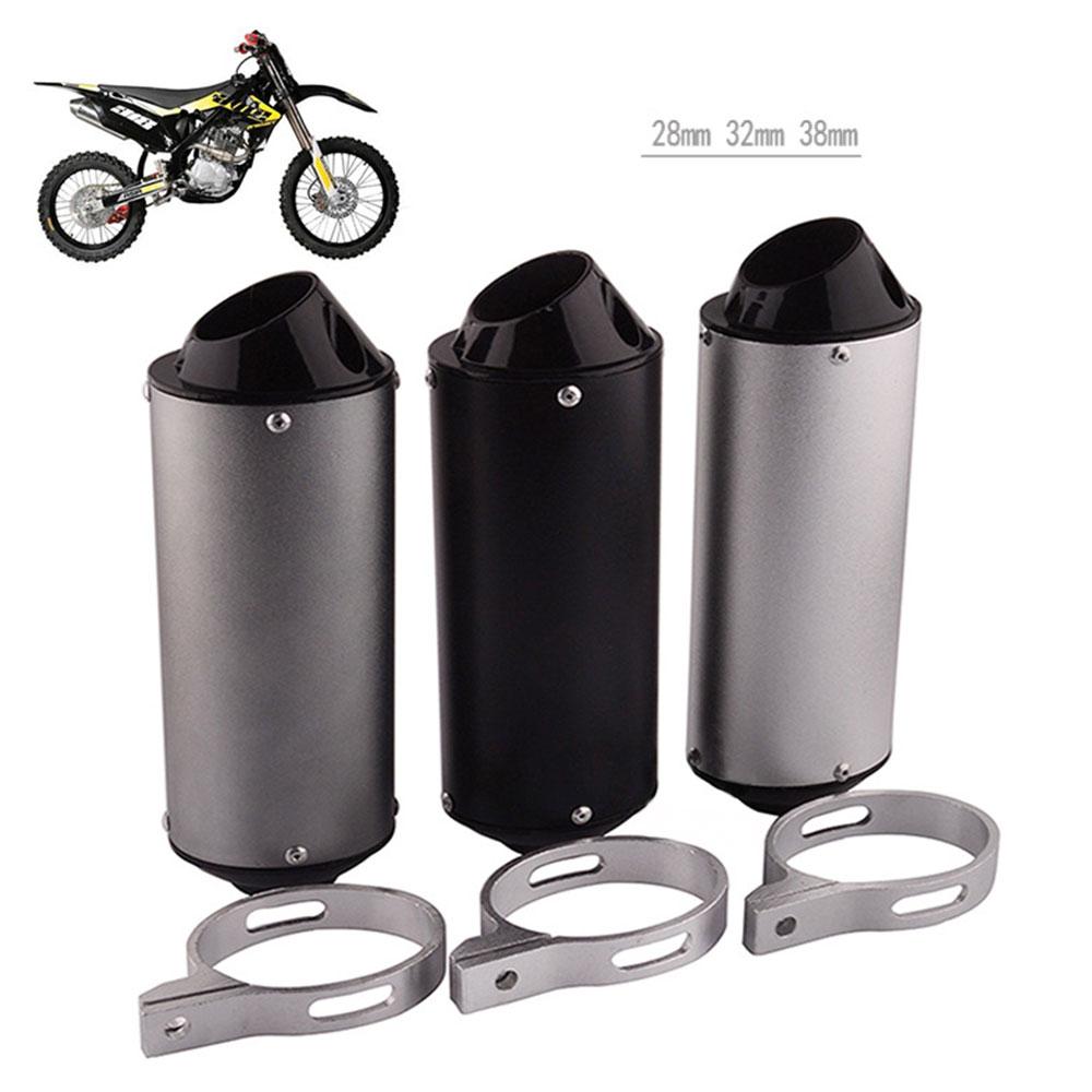 Universal 28mm 32mm 38mm silenciador de escape para motocicleta tubo para 125CC 150CC 160CC suciedad Pit Bike ATV Universal moto escape