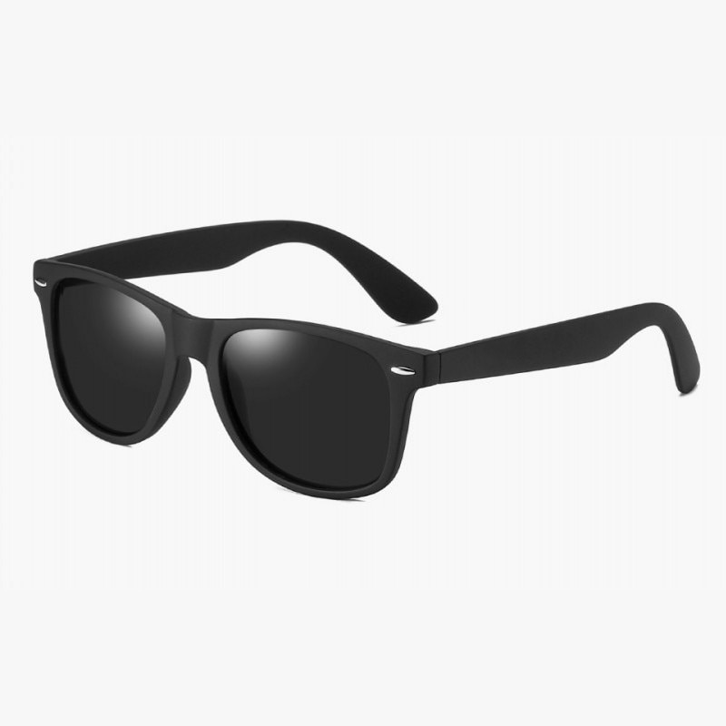 Fashion Polarized Sunglasses Men Women Driving Coating Points Black Frame Eyewear Male Sun Glasses U