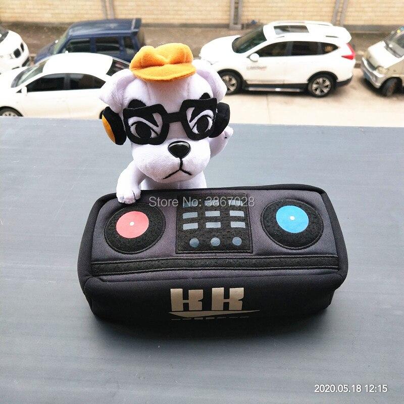Animal Crossing New Horizons DJ KK Slider, muñecos de peluche, regalo limitado