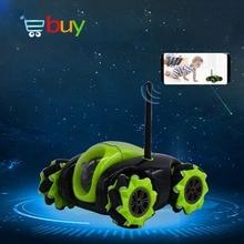 Robot teledirigido de la nube del tanque del RC controlado por Wifi de la aplicación FPV con la recarga inalámbrica de los juguetes del coche del VR del tiempo Real de la Cámara de 720P HD