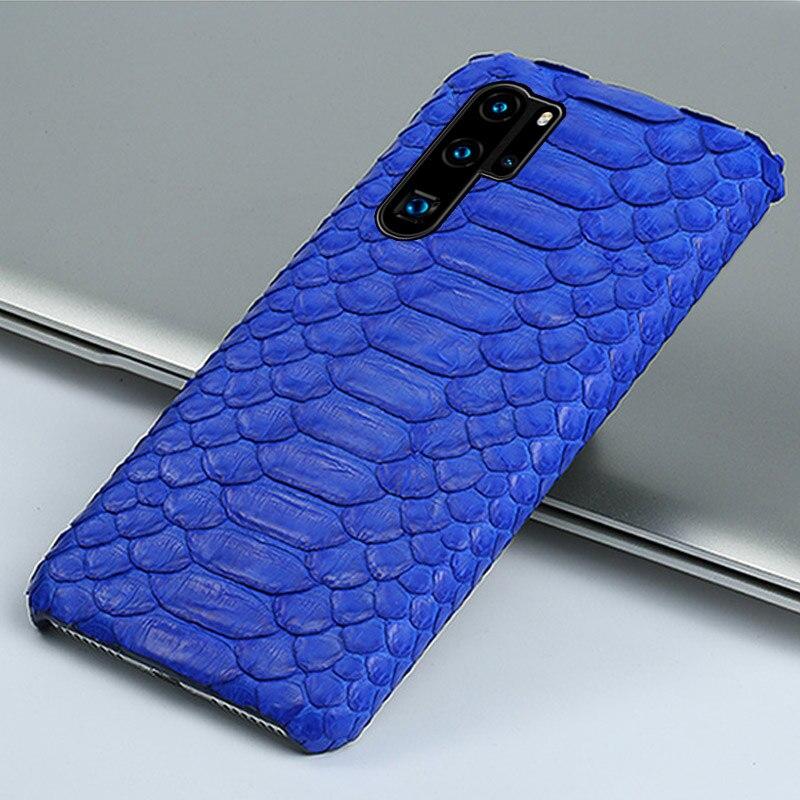 Langسيدي-جراب هاتف من الجلد الطبيعي ، جراب لهاتف Huawei P30 pro p20 p10 lite mate 20 10 30 honor V30 nova 6 5