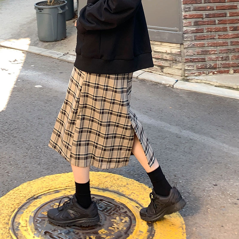 Verano femenino coreano Harajuku lindo Casual suelta Ins falda mujeres faldas Harajuku japonés Ulzzang Vintage ropa para mujeres