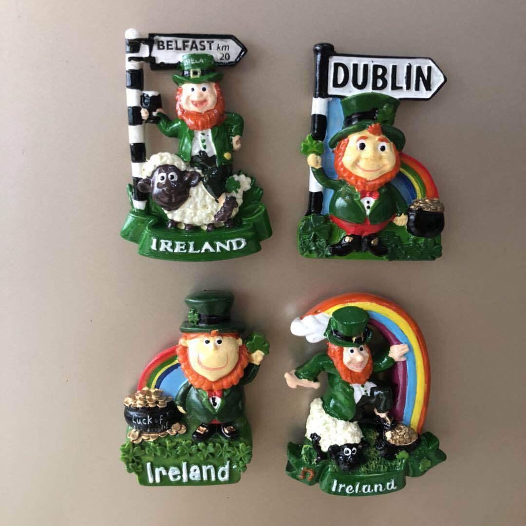 Aimants réfrigérateur dessin animé irlandais   Aimants en résine, dessin animé irlandais, Dublin Animal agneau, aimants pour messages irlandais, autocollants mignons, cadeau de décoration
