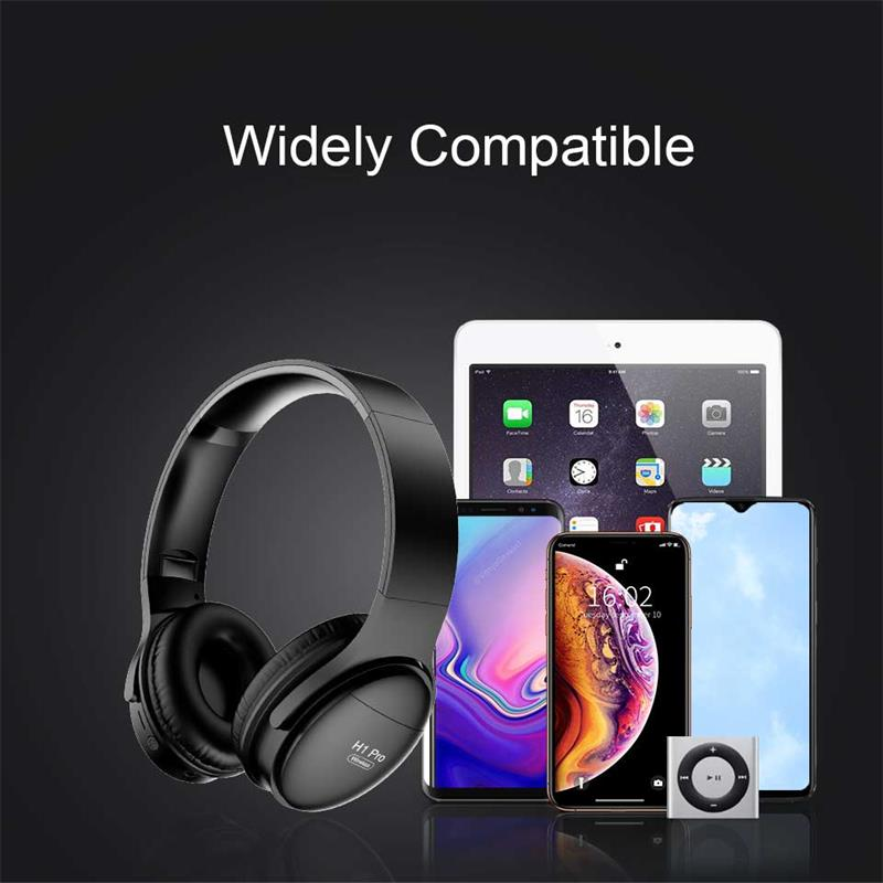 H1 Pro Wireless Bluetooth Headphones HiFi Stereo Gaming Headset V5.0 Foldable Earphone with Micphone Support TF Card enlarge