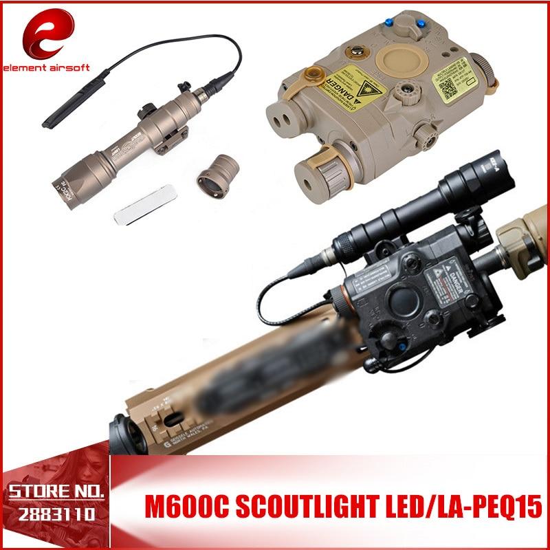 Element Airsoft Weapons Tactical Flashlight Laser Sight Arsoft Armas PEQ15 Pistol Taser  Gun Hunting Accessorie