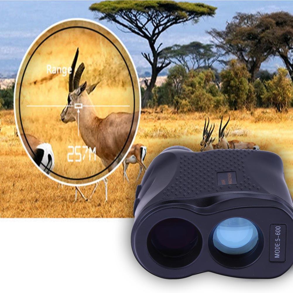 600M Range Outdoor Monocular Telescope Golf Laser Rangefinder Telescope Hunting Golf Sports Laser Range Finder Measurement