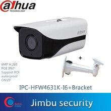 Dahua 6mp 3D réduction du bruit Starlight Caméra IP IPC-HFW4631K-I6 Intégré 6leds H.265 IR150 IP67 POE Caméra De VIDÉOSURVEILLANCE DE Sécurité