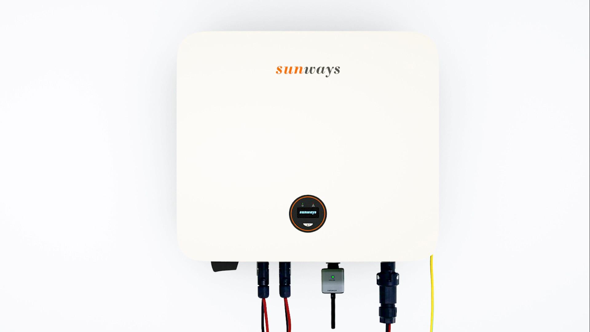 Sunway 5KW 5000 واط 5000 واط مرحلة واحدة PV عاكس الطاقة الشمسية على الشبكة مع MPPT المزدوج في الصين