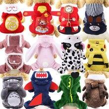 Vêtements pour chiens de dessin animé   Pikachu, Design mignon, vêtements pour chiens, Costume de Cosplay, vêtements pour chiens pour chats sueur à capuche, chiot chien, manteau chaud dautomne et dhiver
