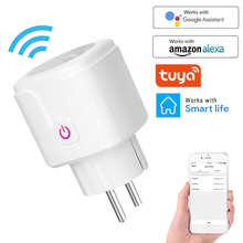 Wireless WiFi Smart Plug EU US UK Adaptor Remote Voice Control Power Energy Monitor Outlet Timer Socket for Alexa Google Home