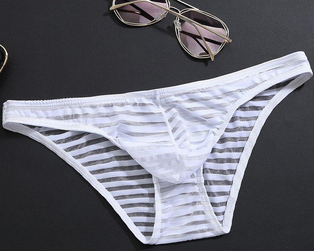 Sexy Men Briefs Underwear G String Pants Boys Thongs  Lingerie Underpants Thong Bulge Pouch Comfortable Breathable Elastic
