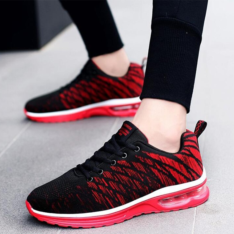 Couple Running Shoes Fashion Breathable Outdoor Male Sports Shoes Lightweight Sneakers Women Comfortable Athletic Footwear