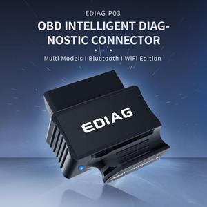 Image 2 - EDIAG P03 ELM327 Bluetooth WIFI V1.5 PIC18f25k80 чип диагностический сканер elm 327 V1.5 для OBDII OBD2 транспортного средства android IOS Torque