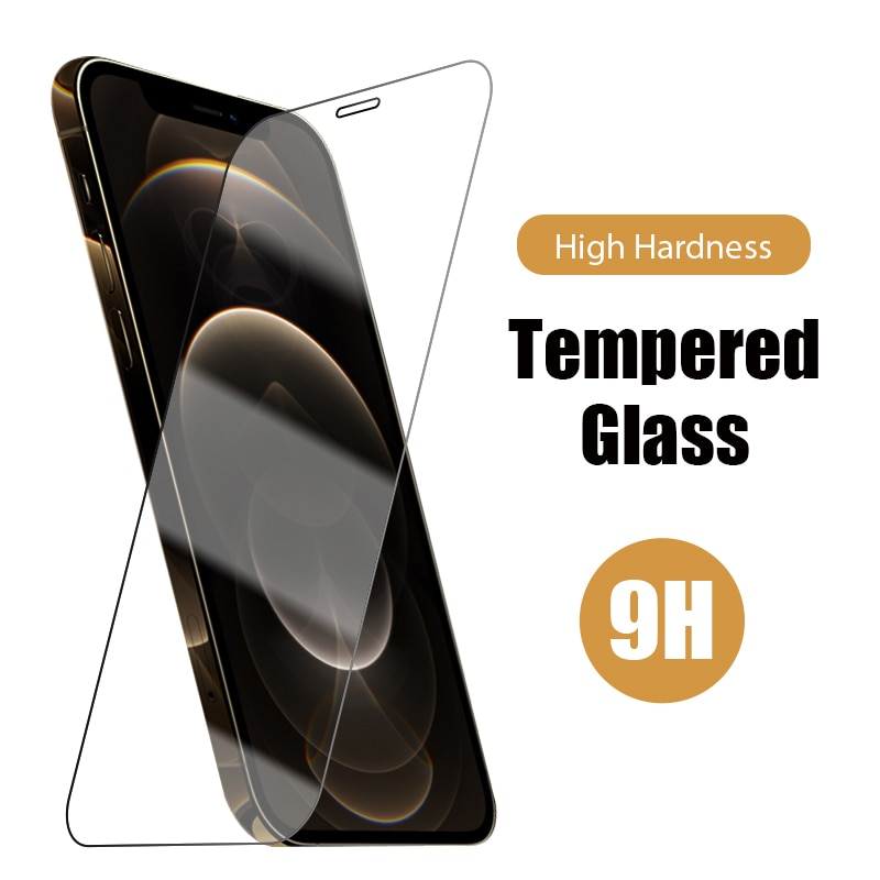 Protective Glass for IPhone 11 Pro 12 Mini XS Max X XR Screen Protector for IPhone 7 Plus 8 5 5s 6 1