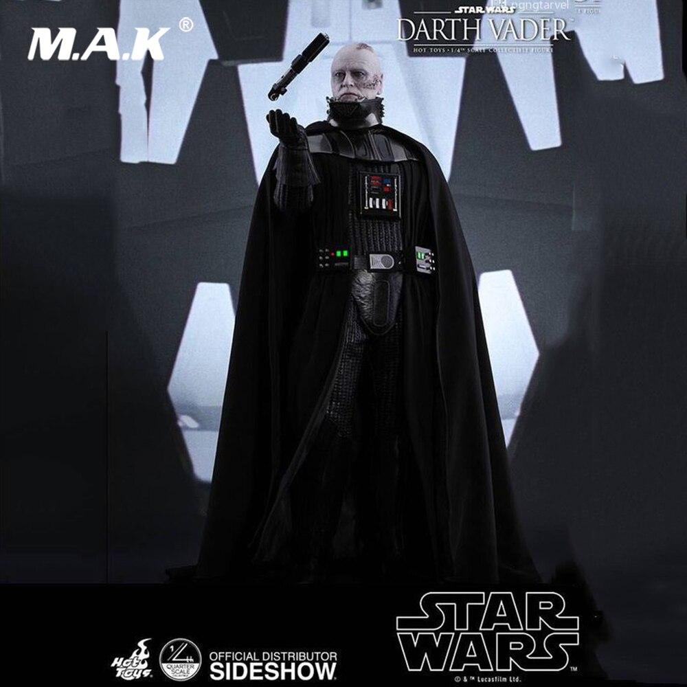 QS013 stokta sıcak oyuncaklar 14 yıldız savaşları bölüm VI jedinin dönüşü 1/4 ölçekli tam Set Darth Vader aksiyon şekilli kalıp Fan