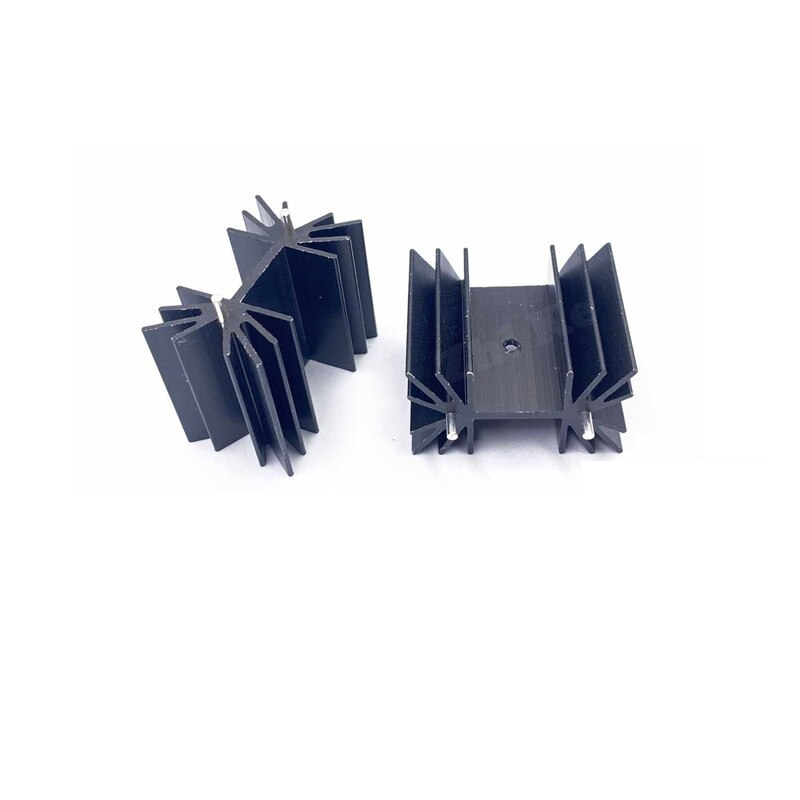 35x42x25,4 мм IC алюминиевый теплоотвод охлаждающий плавник для модульных МОП-транзисторов