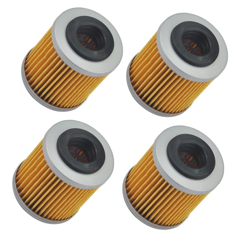 4pc Motorcycle Oil Filter For Husqvarna TC250 TE250 TXC250 TE310 TC450 TE450 TXC450 SM450R TC510 TCX510 SM510 SM530 TE630 SM630