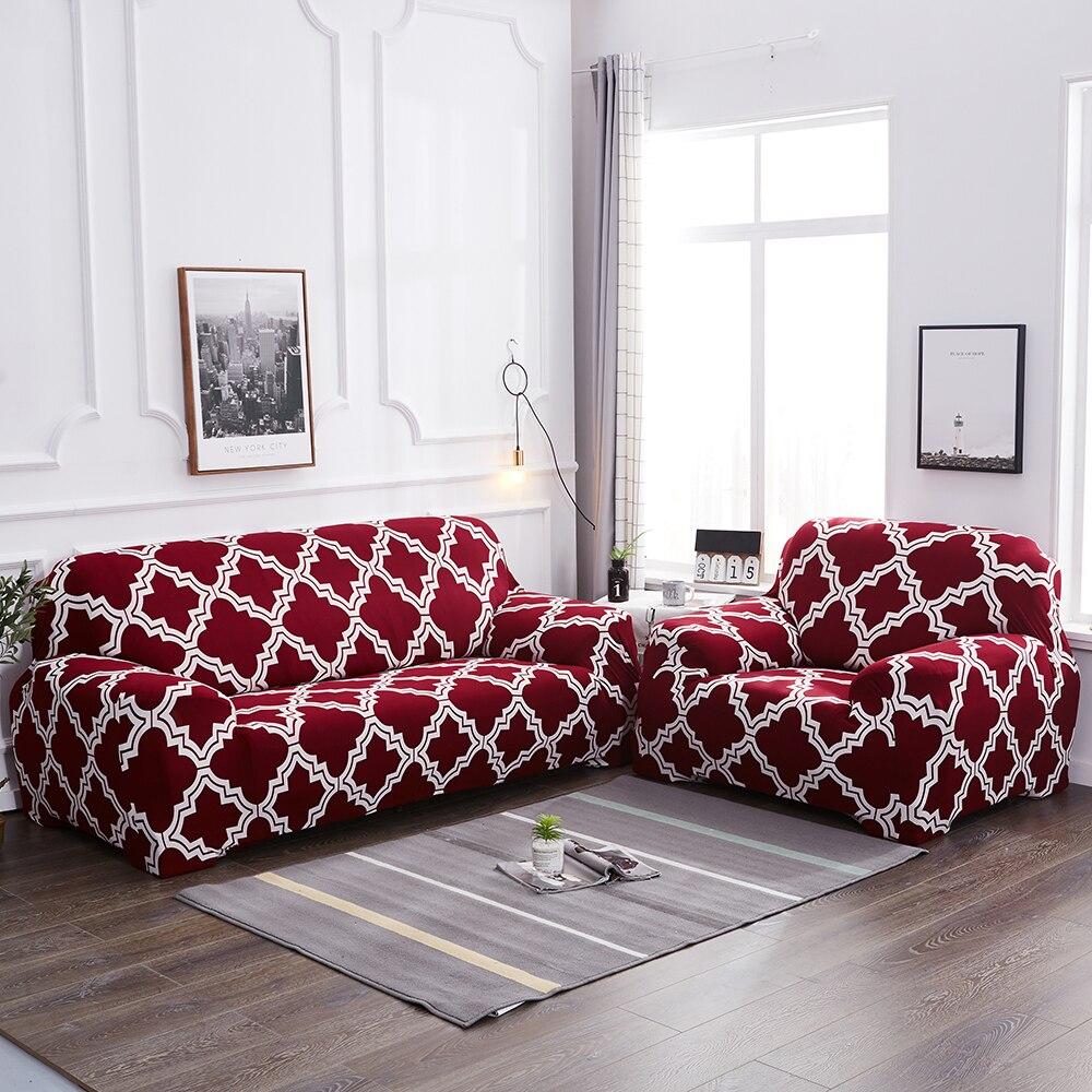 1 ud. Cubierta del sofá de LICRA para sala de estar sofás esquineros elásticos en forma de l muebles de sillón Protector reposabrazos sofá mascotas