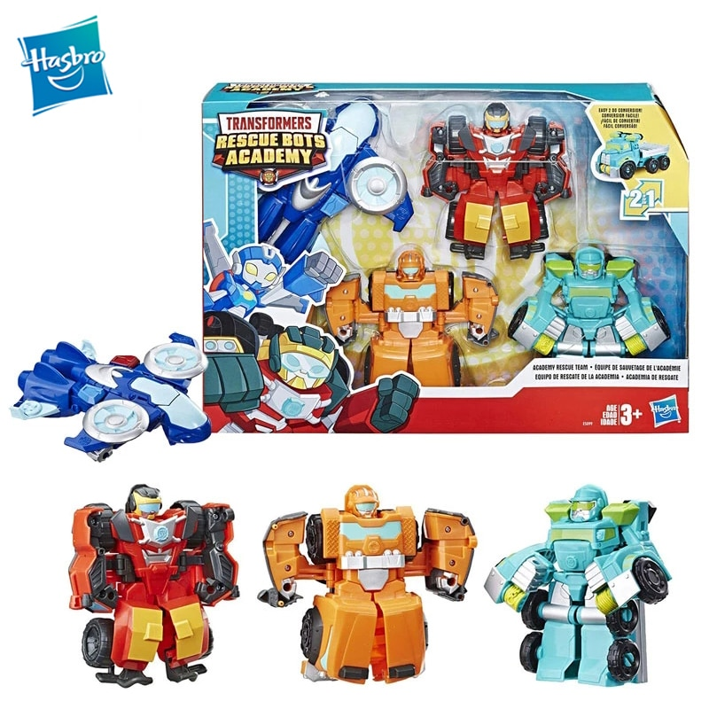 Экшн-фигурка Playskool Heroes, Трансформеры, спасательные боты, Академия спасательных команд, экшн-фигурка 4, Коллекционная, 4,5 дюйма, трансформер, г...
