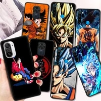 d dragon ball fundas shockproof case for redmi note 10 9 9s 8 8t 7 pro black soft cover for redmi 9a 9c 8 8a shell silicone tpu