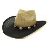 summer sun hats straw white black patchwork panama derby straw hats natural raffia handmade casual outdoor beach summer hats new