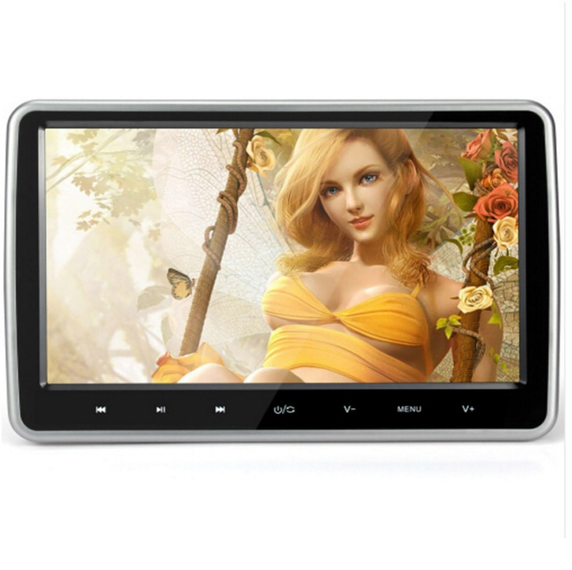 Wide screen 10.1inch Car lcd monitor Car hanging behind the headrest car dvd with HDMI USB SD card slot mp5 player game monitor 9 car headrest dvd video multimedia player monitor entertainment with usb sd game ir fm transmitter hd screen built in speaker