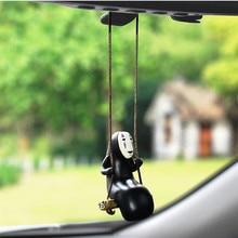 Voiture miroir pendentif décoration intérieure sans visage mâle voiture ornements cadeau Auto décoration accessoires voiture rétroviseur