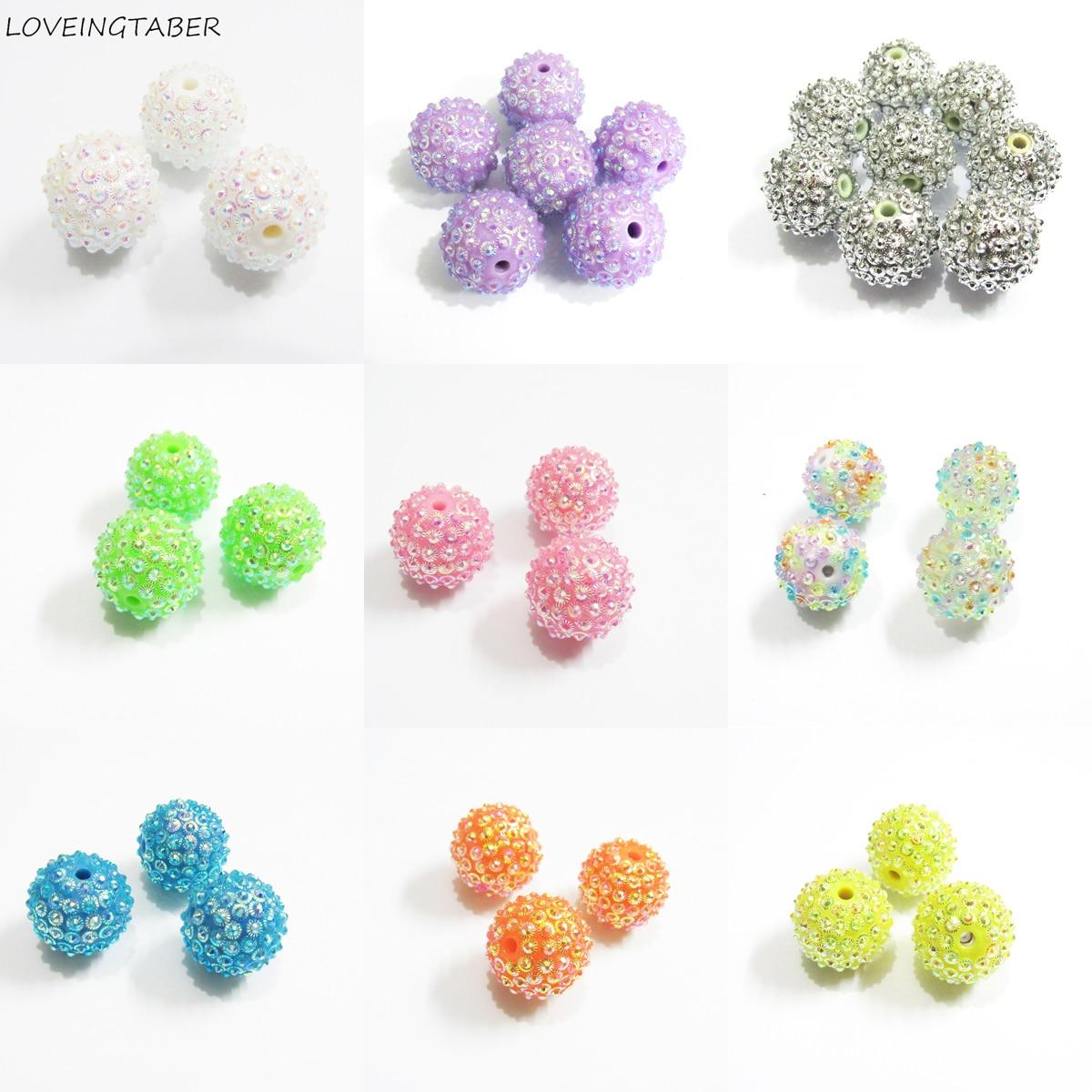 Novo Design! Atacado 12mm-400 pçs/saco, 20mm 100 pçs/saco novo design flor strass contas para crianças chunky jóias