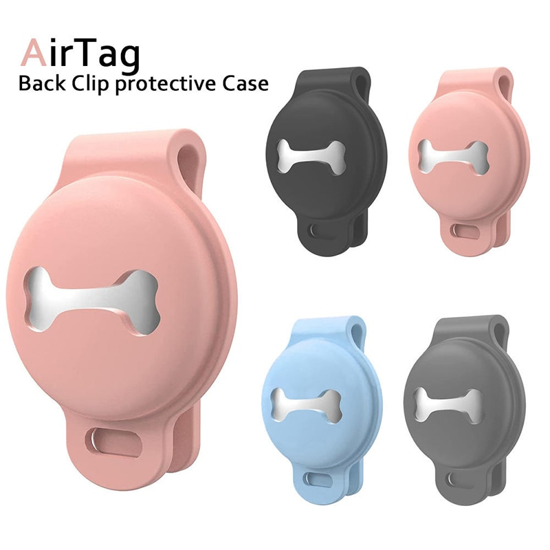 Anti-lost Device Protective For Airtag Cover Case Dont Have To Worry About Losing Your Pet Anymore Tracker Accessories