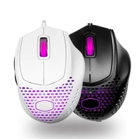 cooler master mm720 mm711 mm710 49g rgb gaming mouse optical sensor lightweight honeycomb shell weave cable ip58 pixart pmw3389