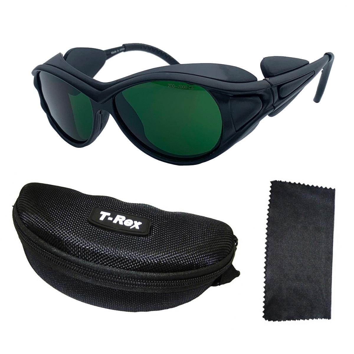 نظارات واقية ليزر ، أداة تجميل ، led ، حماية ضوء قوي ، عدسات ضوئية ملونة 200-1400 نانومتر