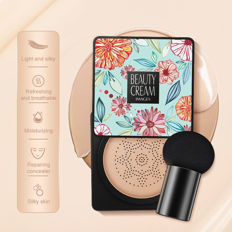BB Air Cushion Basic Products Korean Mushroom Head CC Cream Concealer Whitening Cosmetic Makeup Brig