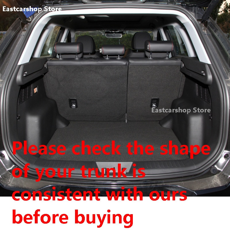 For Chery Tiggo 7 2021 2020 Car All Inclusive Rear Trunk Mat Cargo Boot Liner Tray Waterproof Boot Luggage Cover Accessories enlarge