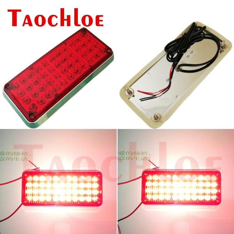 Luces estroboscópicas intermitentes LED de 12V y 24V para motores de bomberos, Luces de policía, caja de señal, lámparas de advertencia 1 unidad,