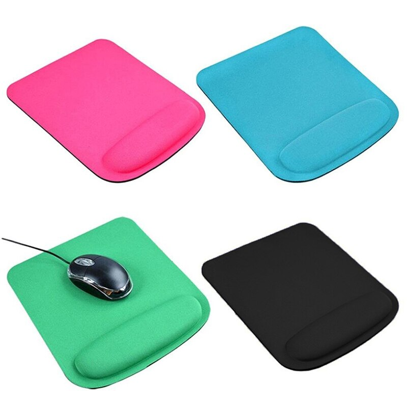 New 1PC Mouse Pad With Wrist Rest Soft Wrist Gel Rest Support Mat Computer Laptop Mice Mouse Pad For Computer Laptop Notebook