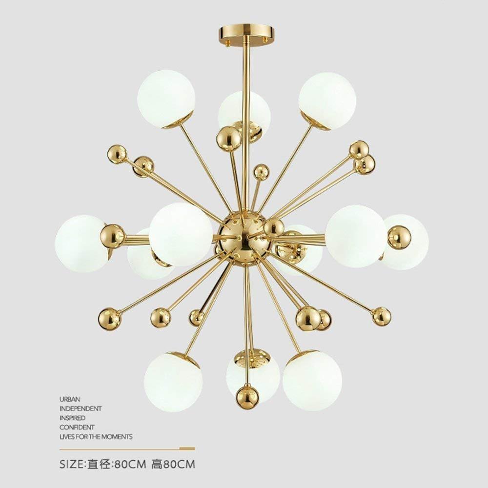 Sputnik feu dartifice lustre éclairage moderne pendentif éclairage/plafonnier luminaire pour salon chambre salle à manger