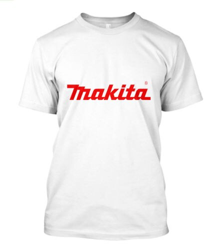 Nueva camiseta blanca Makita Power Tools con Logo de manga corta para hombre, tallas S a 5Xl, camiseta a la moda de verano para hombre, Camiseta cómoda