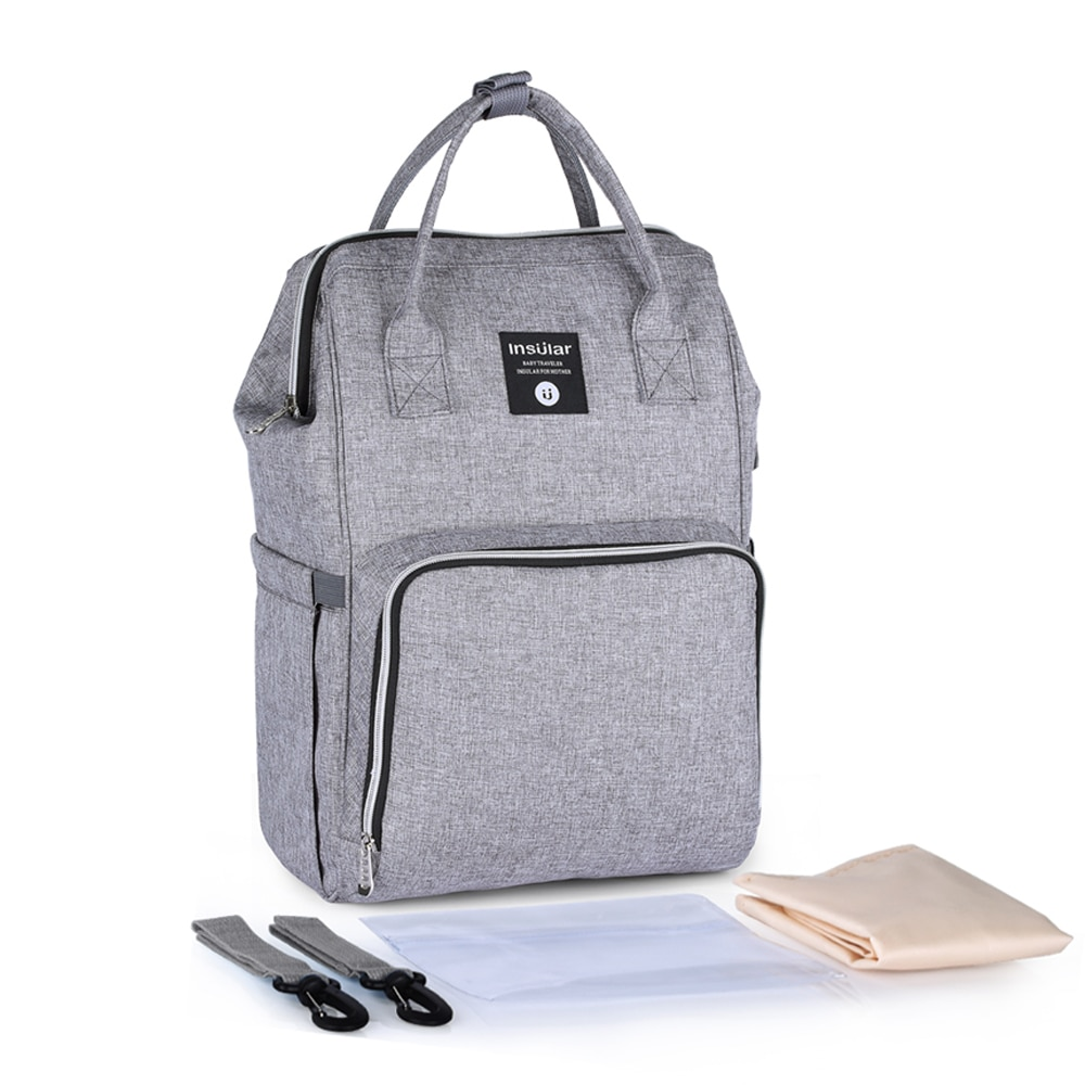 Baby Diaper Bag Large Capacity Waterproof Nappy Bag Multi-function Mummy Maternity Travel Backpack Nursing nappy bag