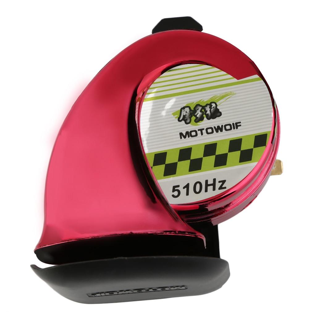 Snail Horn Waterproof Car Horn Auto Air Airen Horn 12v High Electric Bass Speaker Angle Generally Silver