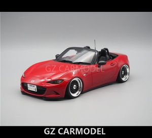 Kyosho 1:18 Mazda MIATA MX5 NA Convertible BBS JDM Modified Car Model Out of Print Car Collector Edition Metal Diecast Model Toy