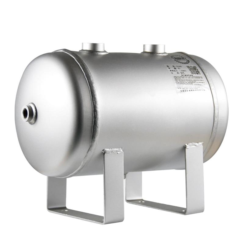 خزان غاز صغير من الفولاذ المقاوم للصدأ 304 ، خزان غاز مخصص بلوري ، خزان 5 لتر ، عازل فراغ