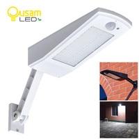 Solar Lamp Garden 48LED Bulb 900LM Solar Powered Light Wall Lamp PIR Sensor Motion 4 Modes With Adjustable Pole Waterproof