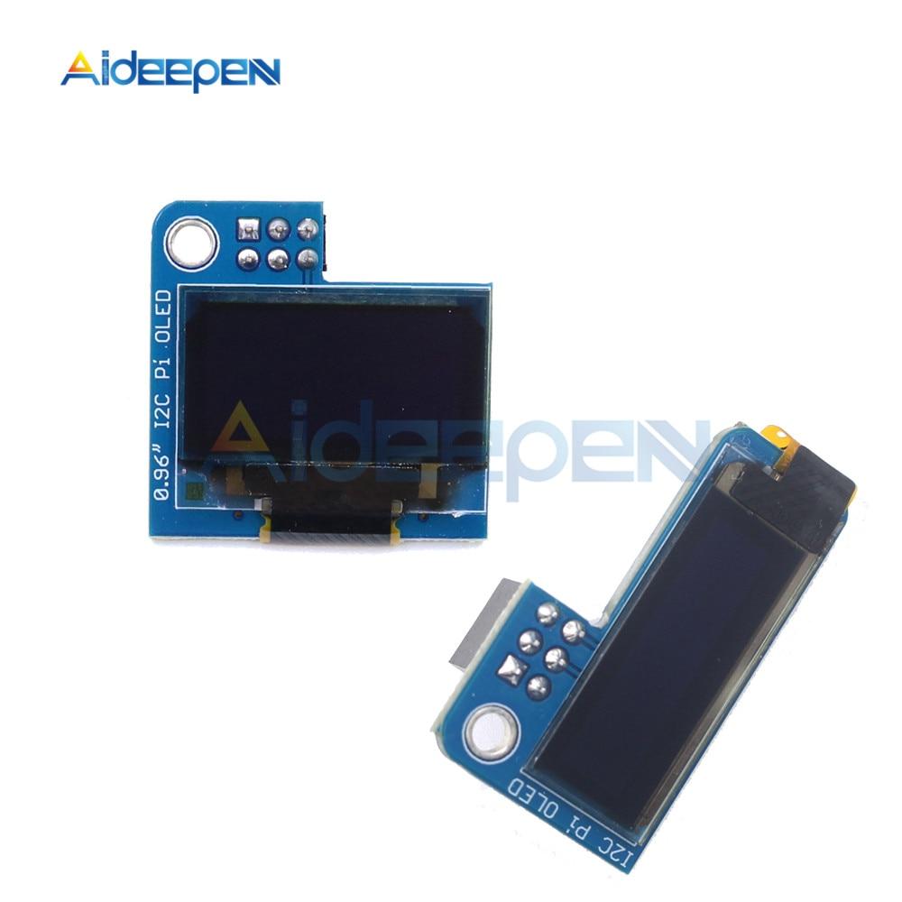 0,91 OLED de 0,96 pulgadas de la CII en serie Blanco Módulo de pantalla OLED 128X64X128X32 I2C SSD1306 12864, 12832 pantalla LCD para Raspberry Pi