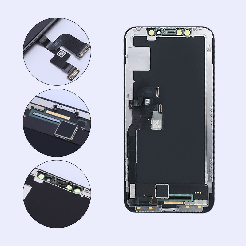 100% Tested For Iphone X XS XSmax XR 11 11pro 11promax LCD Display Touch Screen Digitizer Assembly For Pantalla OLED enlarge