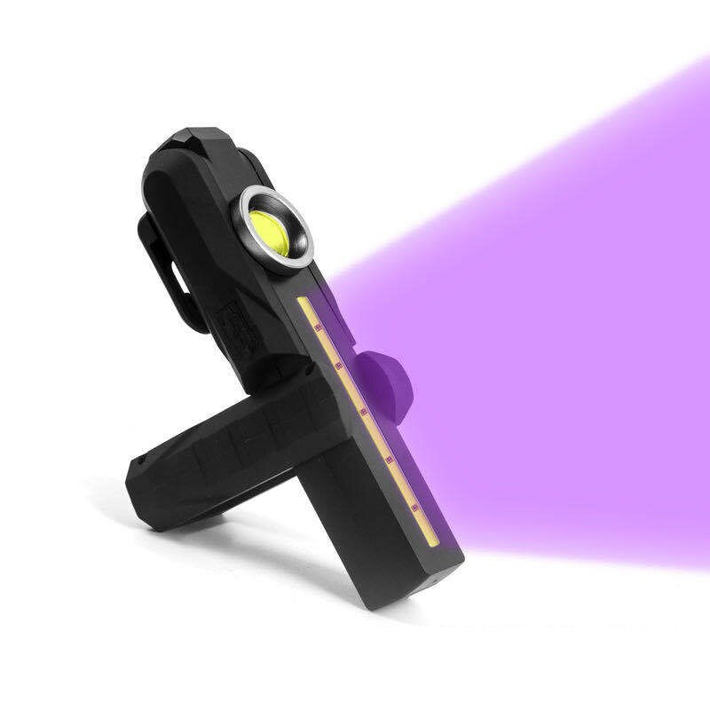 XANES XPE+UV3535 200LM+275nm Handheld UVC Germicidal Lamp Portable  USB Disinfection Light Ultraviolet Lantern Torch Spotlights