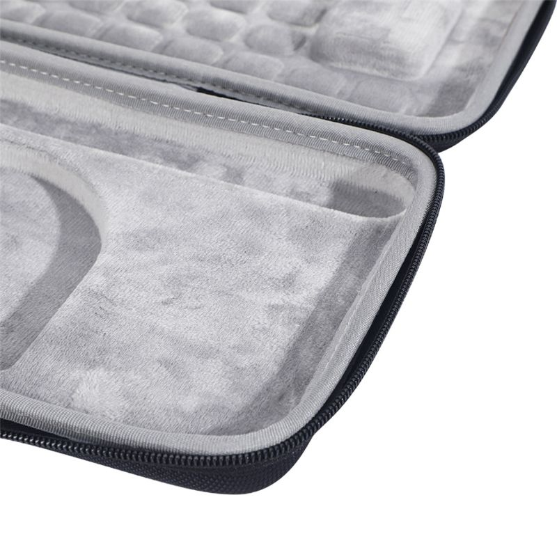 C5AB غطاء واقٍ مزخرف لهاتف آيفون ل L-ogitech Craft المتقدم لوحة المفاتيح اللاسلكية السفر تحمل واقية حقيبة التخزين